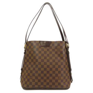 Louis Vuitton N41108 Cava Livington Damier Ebene Shoulder Bag Canvas Ladies LOUIS VUITTON