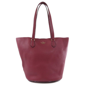 Kate spade logotype tote bag leather ladies kate