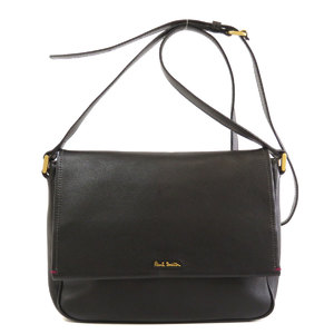 Paul Smith Logo Shoulder Bag Leather Ladies