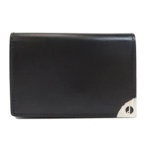 Dunhill Logo Hardware Key Case Leather Men