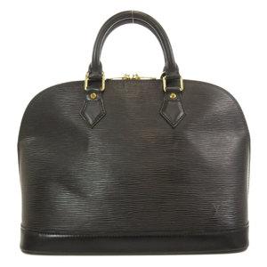 Louis Vuitton M52142 Alma Epi Gold Hardware Handbag Leather Ladies LOUIS VUITTON