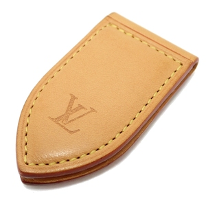 LOUIS VUITTON Louis Vuitton Pance Avie Money Clip Nume Leather Natural M64692