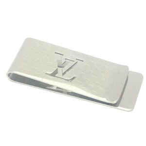LOUIS VUITTON Louis Vuitton Pance Vie Champs Elysees Money Clip Silver Color Metal M65041