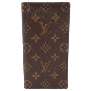 LOUIS VUITTON Louis Vuitton Monogram Porto Cult Credit Lady Circle Folded Long Wallet M60825