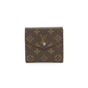 LOUIS VUITTON Louis Vuitton Monogram Double Hook Wallet W M61660
