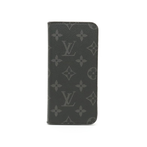 LOUIS VUITTON Louis Vuitton Monogram Eclipse iPhone6plus iPhone 6 plus Folio Plus Case Smartphone M61700