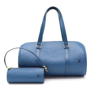 LOUIS VUITTON Louis Vuitton Episuflo handbag with pouch Leather Toledo Blue M52225