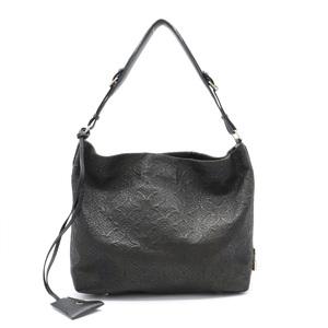 LOUIS VUITTON Louis Vuitton Monogram Antia Hobo PM Shoulder Bag Semi Leather Noir Black M93833