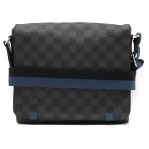 LOUIS VUITTON Louis Vuitton Damier Graphite District PM NM Messenger Bag Shoulder N42404