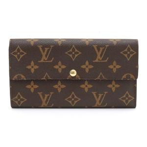 LOUIS VUITTON Louis Vuitton Monogram Portofeuille Sarah Two-fold Zipper Wallet M61734