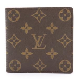 LOUIS VUITTON Louis Vuitton Monogram Portobier Cult Credit Monet Two Fold Wallet M61665