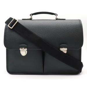 LOUIS VUITTON Louis Vuitton Taiga Anton Briefcase Business Bag 2way Leather Ardoise M32622