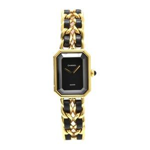 CHANEL Premiere Size XL Gold Plated Quartz Ladies Watch H0001