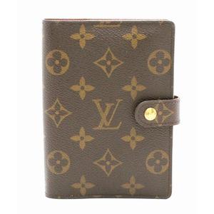 LOUIS VUITTON Louis Vuitton Monogram Agenda PM notebook cover 6-hole system R20005