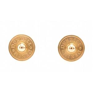 dunhill cuffs GP round shape logo DUNHILL DENIM pink gold color JS0222K