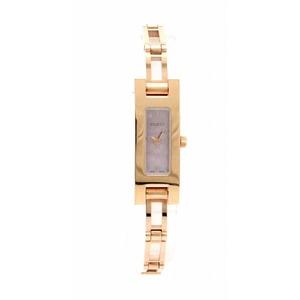 GUCCI Pink Dial GP Gold Color Plated Ladies Quartz Watch 3900L YA039549
