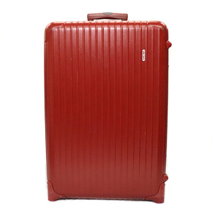 RIMOWA Salsa Carrying case bag suitcase Two-wheeled travel with casters Travel dial Key red