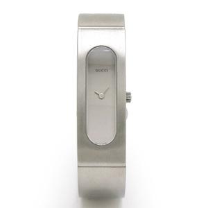 GUCCI Gucci Bangle Watch Silver Dial Ladies Quartz Wrist 2400S YA024602