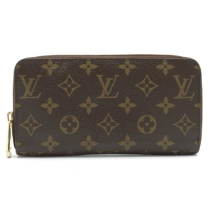 LOUIS VUITTON Louis Vuitton Monogram Zippy Wallet Round Zipper Long M60017