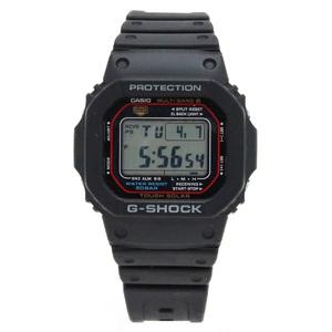 CASIO Casio G-SHOCK solar radio clock multi-band 6 tough black men's watch GW-M5610