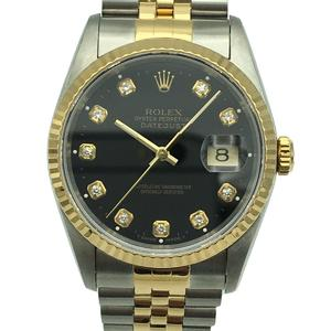Rolex Datejust Watch Men's Automatic Stainless Steel SSK18YG 16233G