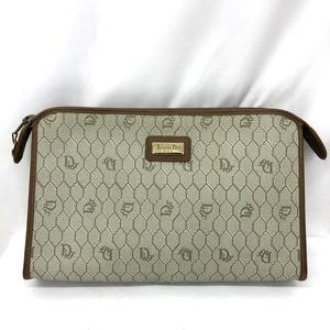 Christian Dior Second bag Clutch Beehive Beige system Multi-pattern multi-case logo plate Ladies Men 417072 RYB5991