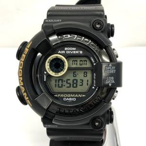 G-SHOCK CASIO Watch DW-8200BM Frogman FROGMAN MEN IN BLACK 2nd Men in Black Digital Screw Back Men's 418468 RY2886