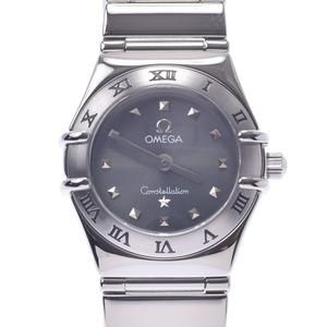 OMEGA オメガ コンステレーション ミニマイチョイス 1561.51 レディース SS 腕時計 クオーツ グレー文字盤