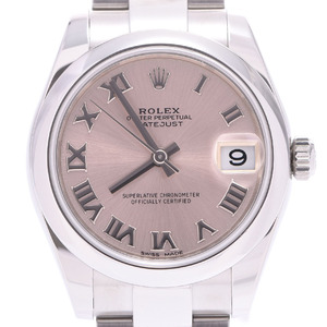 ROLEX Datejust 178240 Ladies Steel Watch Automatic Pink