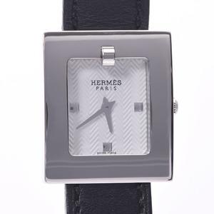 HERMES Belt Watch Steel Leather Quartz Ladies Watch BE1.110