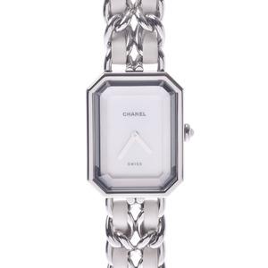 CHANEL Premiere Size M MOP Dial Steel Quartz Ladies Watch H1639