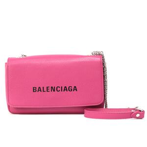 BALENCIAGA Shoulder Bag Handbag Everyday Chain Wallet Ladies Men