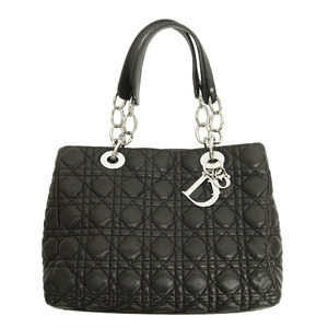 Christian Dior Canage Chain Shoulder Black