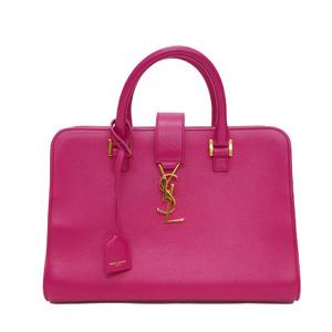 Saint Laurent Paris SAINT LAURENT 357395 Monogram cabas 2WAY handbag pink