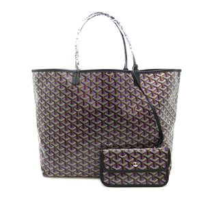 Goyard Saint Louis GM Ladies Tote Bag Coated Canvas Purple