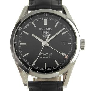 TAG HEUER Carrera Twin Time Mens Automatic Watch WV2115 2020 1