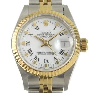 ROLEX Datejust Combi Ladies Automatic Watch 69173 R number