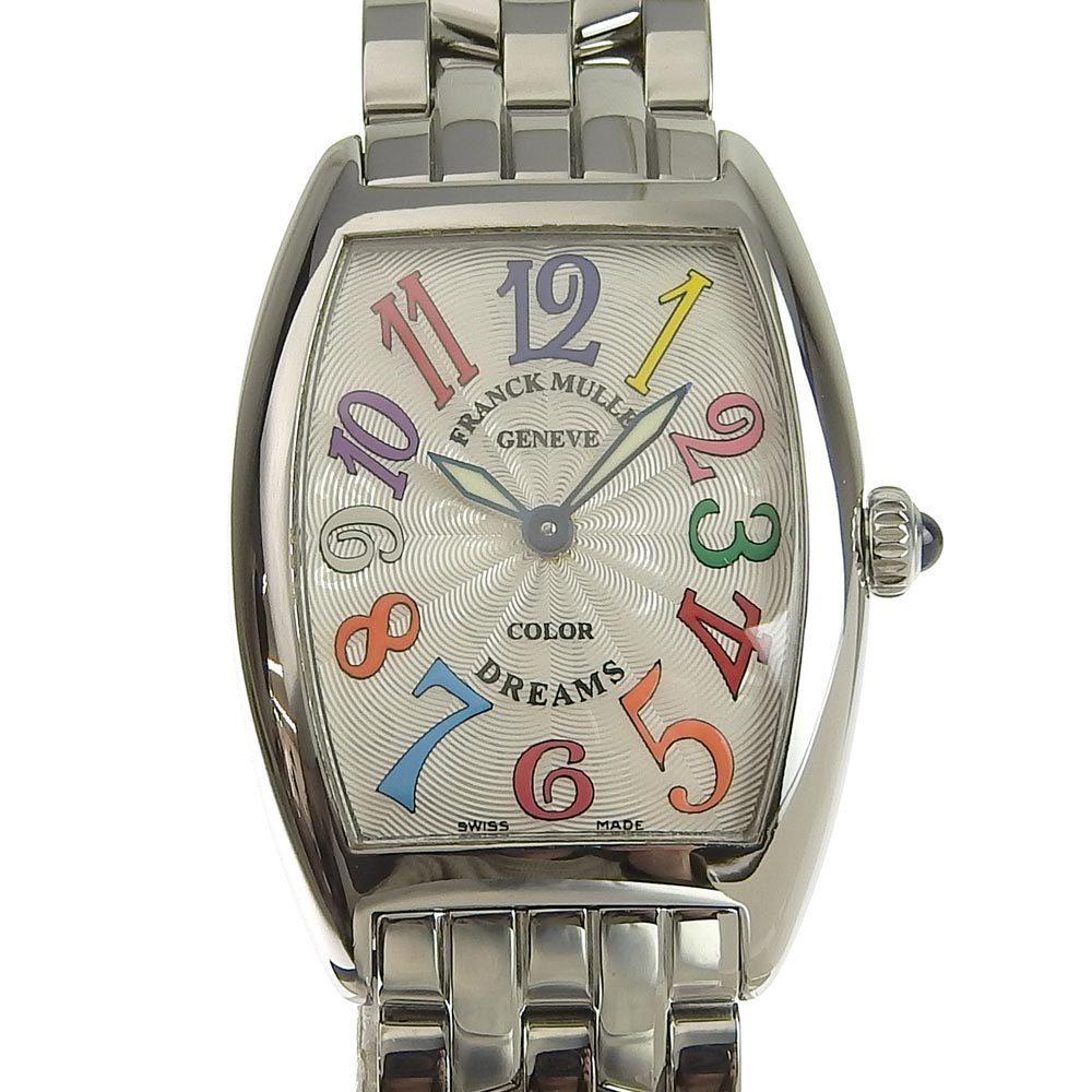 FRANCK MULLER Tonneau Curvex Color Dream Ladies Quartz Watch 1752QZCD