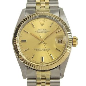 ROLEX Datejust Mid Size Automatic Watch 6827 Serial 73