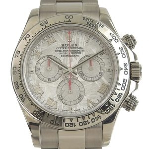 ROLEX Daytona Mens Automatic Watch Meteorite Dial 116509 Z Serial