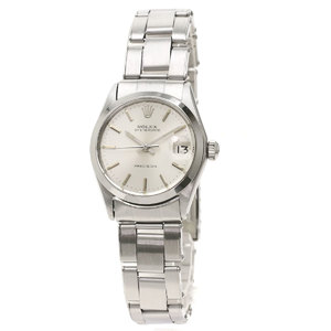Rolex 6466 Oyster Date Antique 1967 Watch Stainless Steel SS Boys ROLE