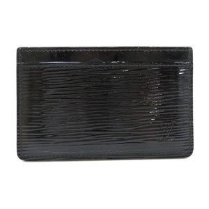 Louis Vuitton M6030N Port Cult Sampur Epi Enamel Card Case Men's LOUIS VUITTON