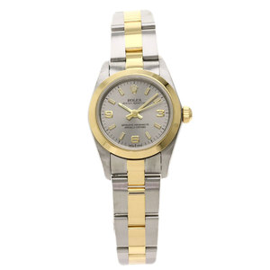 Rolex 76183 Oyster Perpetual Watch Stainless Steel K18YG Ladies ROLE