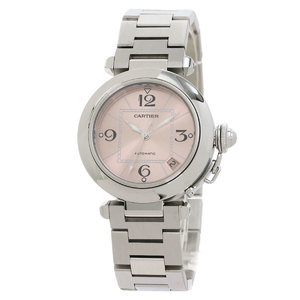 Cartier W31075M7 Pasha C Watch Stainless Steel SS Boys CARTIER