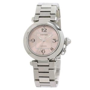 CARTIER Pasha C Steel Automatic Unisex Watch W31075M7