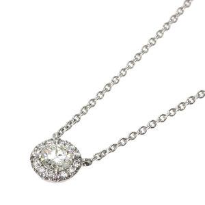 Tiffany Solest Diamond Necklace Platinum PT950 Ladies TIFFANY&Co.