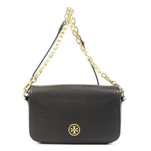 Tory Burch Logo Motif Shoulder Bag Leather Ladies