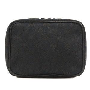 Gucci 153129 GG makeup pouch canvas ladies GUCCI