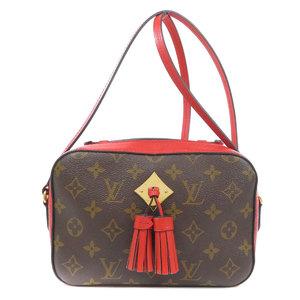 Louis Vuitton M43556 Santonju Monogram Shoulder Bag Canvas Ladies LOUIS VUITTON