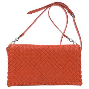 Bottega Veneta Intrecciato Shoulder Bag Calf Ladies BOTTEGA VENETA